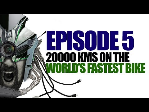 Ep5 :: 20000KMS On Two Of The World's Fastest Bikes ( Ninja H2 And Panigale 1299 )