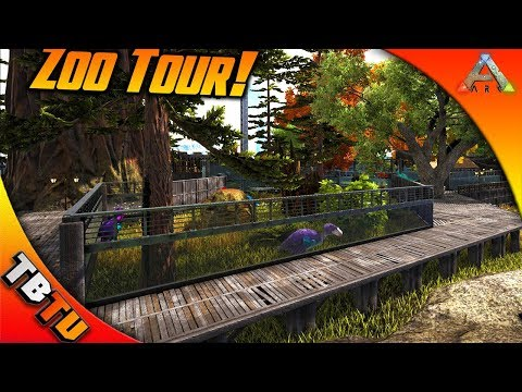 ARK SURVIVAL MUTATION ZOO TOUR WITH TINY HUMAN! TONS OF MUTATED DINOS! Ark Survival Evolved Mutation