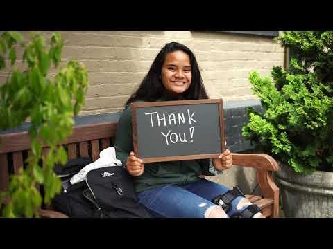 "Corban University \""Thank You\"""