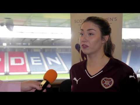 Heart of Midlothian Ladies FC - #SWPL16 pre-season interview