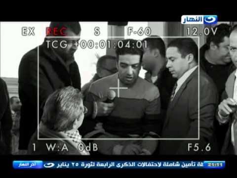 اخر النهار - مواطن  يقتحم لقاء محمود سعد بمحافظ الاسكند�...