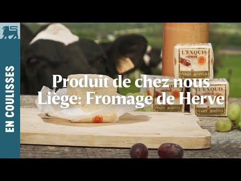 Produit de chez nous | Liège: Fromage de Herve