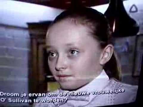Hannah Jones on Belgium Television
