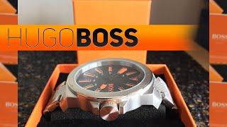 Hugo Boss Orange Watch Review/in Depth Look (Black&Orange)