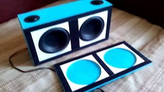 Portable sound and portable bluetooth speakers