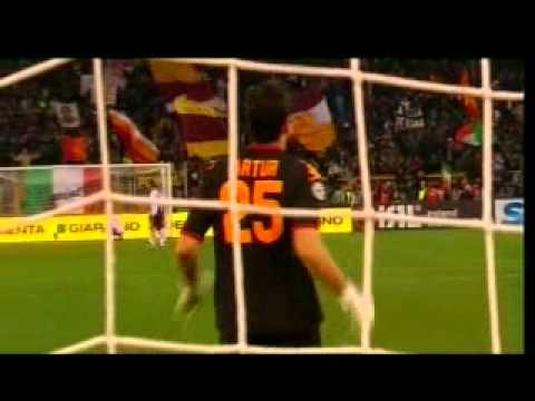 Roma 3-2 Cagliari | Vucinic Goal & Celebration | Carlo Zampa | R4E Network