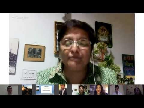OVBI Presents - Google Hangout With Kiran Bedi