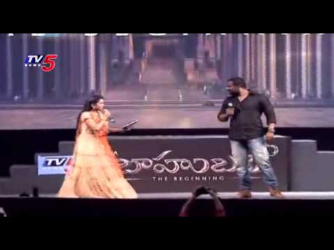 Prabhakar Shows his Dangerous KALAKEYA Performance at Baahubali Audio Launch | TV5 News