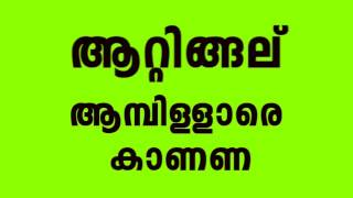 Trivandrum Pailakal Funny Song   Reply To Maheethe Pembullara Kandikka Watsup Virul Song