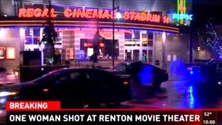 Drunk Man Accidentally Shoots Woman In Movie Theater Then Runs Away!