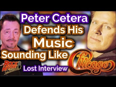 Peter Cetera Defends His Solo Music Sounding Like Chicago - Lost Interview