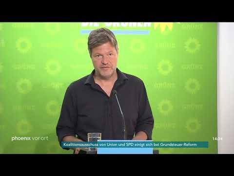 Robert Habeck zur Einigung des Koalitionsausschusses beim Thema Klimaschutz am 17.06.19
