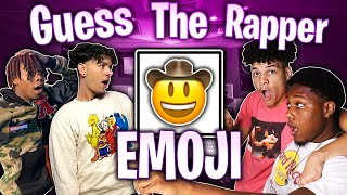GUESS THE RAPPER FROM THE EMOJI 🔥 ITS SO CONFUSING 😡