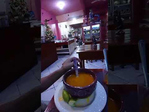 Um caldinho de sururu da cozinheira Telma de Ubaíra BA
