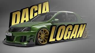 Dacia Logan mega Wide Body 😍 | Prior-Design