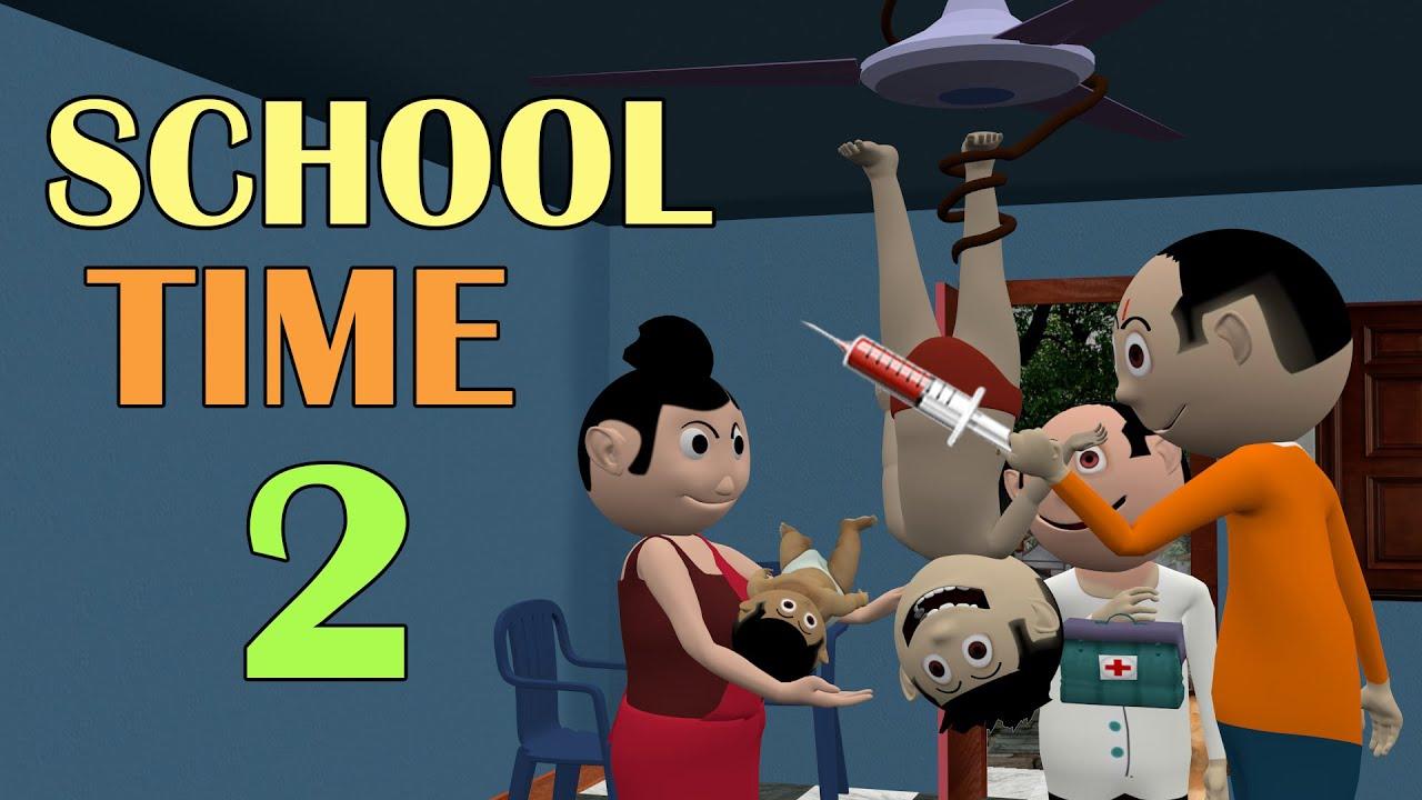 SCHOOL TIME 2   Jokes   CS Bisht Vines   Desi Comedy Video   School Classroom Jokes