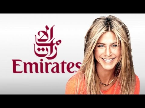 Jennifer Aniston - A380 Emirates (TV Spot German) HD