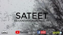 klo 19.00 SATEET, Markku Tuppurainen, Teresa Rajala, musiikissa Mika Karola,