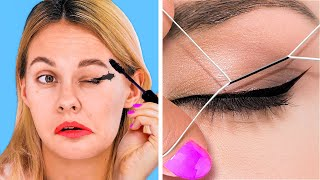 EASY DIY BEAUTY HACKS TO SPEED UP YOUR DAILY ROUTINE! || Everyday Hacks by 123 Go! Gold