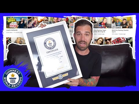 Charles Trippy: Most consecutive days vlogging! - Guinness World Records