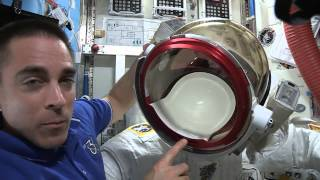 Why Did Spacesuit Helmet Leak? - ISS Astronaut Explains | Video