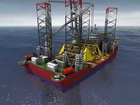 Global Maritime GM-J2800 Subsea Installation
