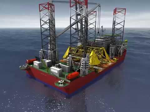 Global Maritime GM-J2800 Subsea Installation
