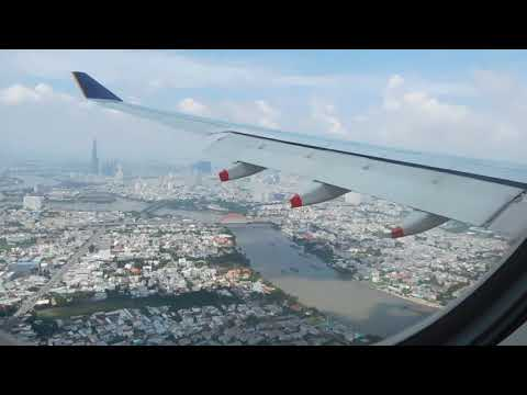 Singapore Airlines A330-300 SQ178 Landing in Ho Chi Minh City