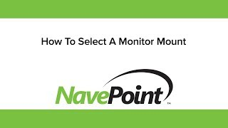 How to Select a Monitor Mount