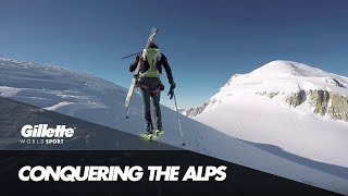 Conquering the Alps in under 50 Hours | Gillette World Sport