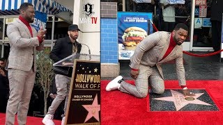 Eminem Speaks At 50 Cent Walk Of Fame Ceremony! ⭐️