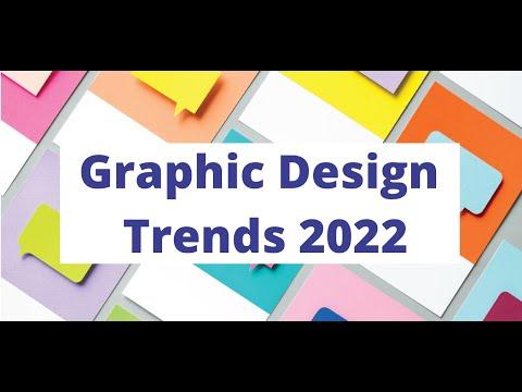GRAPHIC DESIGN TRENDS IN 2022 | Design Trends of 2022 | Trends in Design for 2022