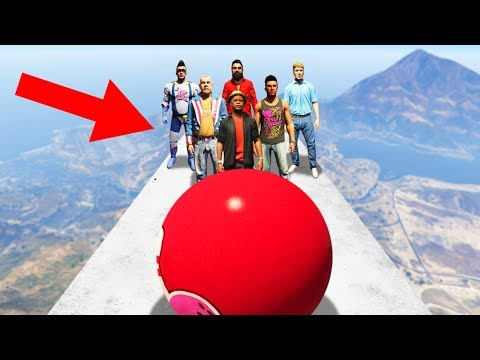 EXTREME HUMAN BOWLING! (GTA 5 Funny Moments)
