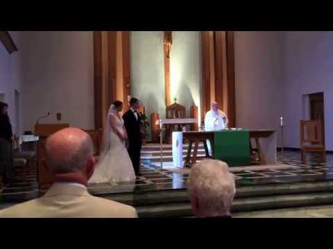 Emilie  and Josh Dahm Joining Hands in Marriage