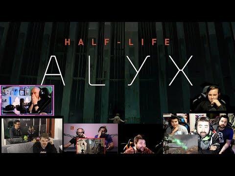 Реакция Летсплейщиков | Трейлер Half-Life: Alyx |