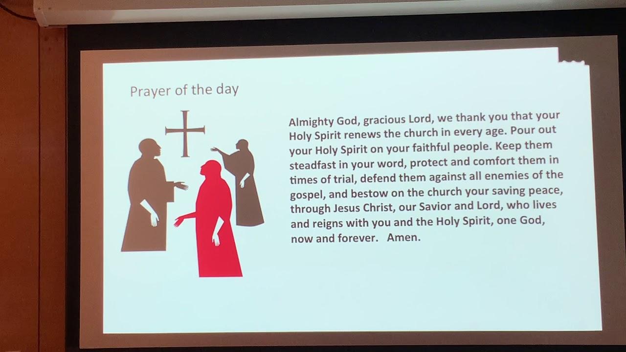 October 25, 2020 Reformation Worship