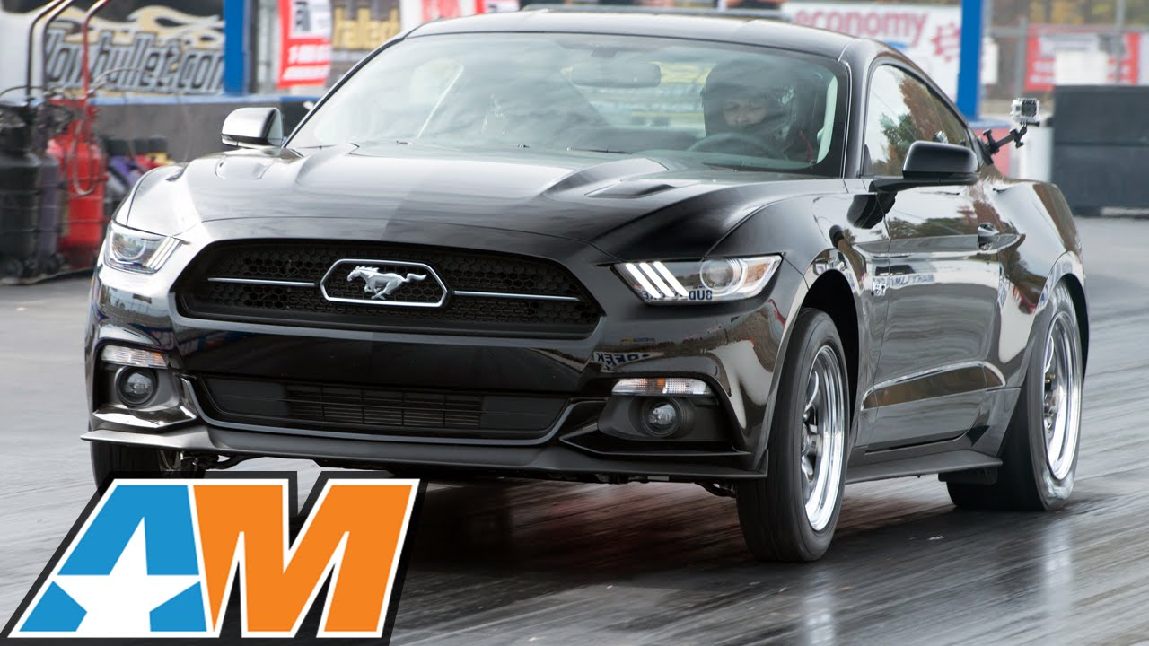 FIRST 2015 Mustang GT into the 9's at the Track! - YouTube