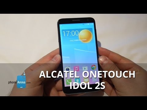 Alcatel OneTouch Idol 2S hands-on