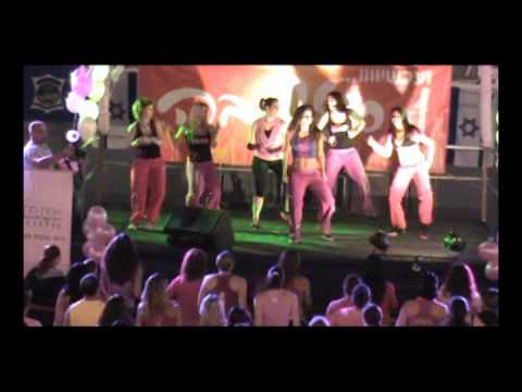 Zumbathon- Party In Pink With ZES Maria Browning In Israel - November 2011