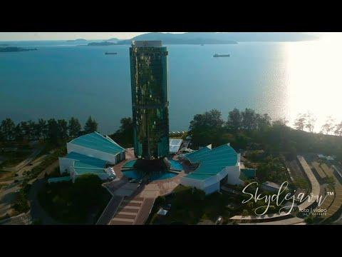 Dji spark footage - menara tun mustapha (yayasan sabah)
