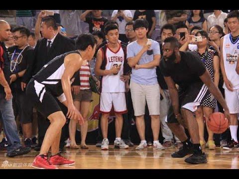 Houston star Harden tutors youngsters in Beijing