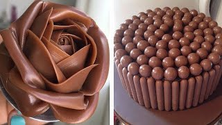 Perfect And Easy Cake Decorating Ideas | Chocolate Cake Hacks | Delicious Chocolate Cake Recipes
