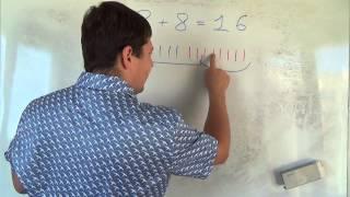 Математика 1 класс. 20 сентября. Сложение чисел  Часть 9