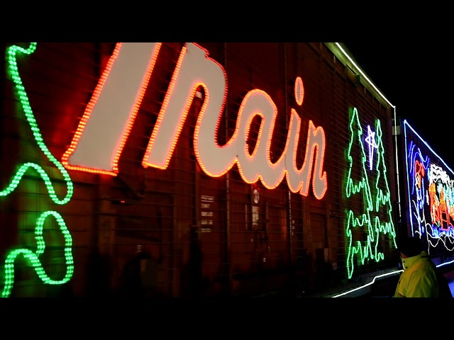 CP Holiday Train in Thief River Falls