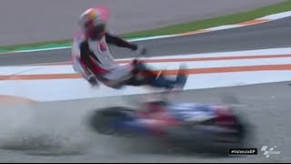 MotoGP Valencia 2019 Crashes and Fails #19