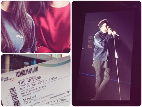 The Weeknd Starboy: Legend of The Fall Tour 2017 at Birmingham Barclaycard Arena   DevanshiVLodhia