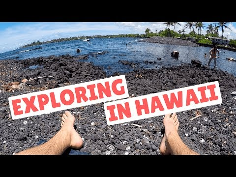 Exploring in Hawaii Vlog 🌊 Champagne Ponds