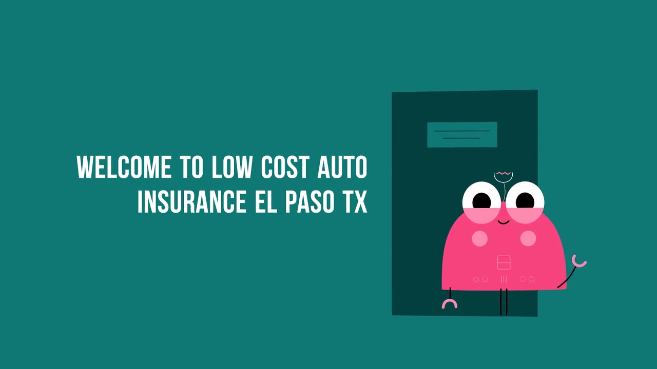 Get Now Cheap Car Insurance in El Paso TX