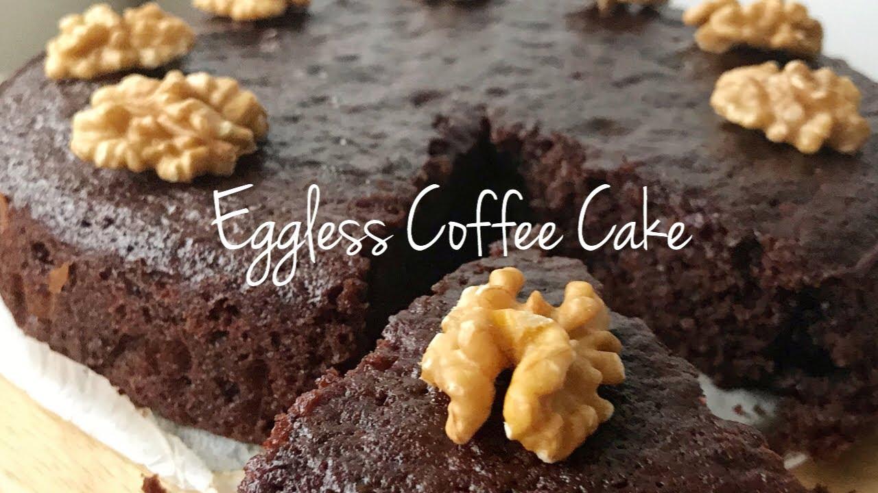 EGGLESS SUPER MOIST COFFEE CAKE|Easy Recipe - YouTube