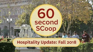 60 Second SCoop: Hospitality Update 2018 thumbnail